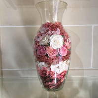 Pink Pot Pourri Vase